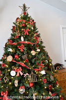 Nativity Christmas Tree with DIY Ornaments