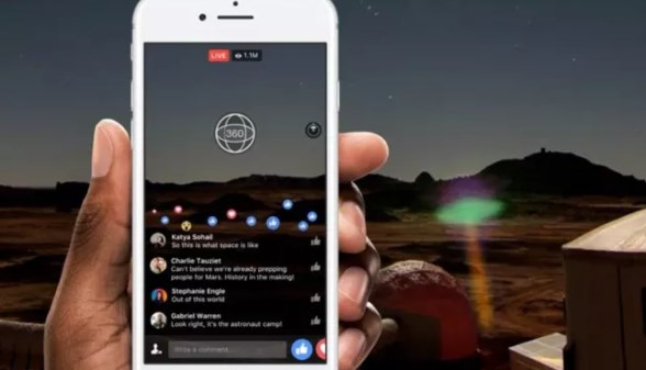 Facebook has now 4k support and other improvements with live 360