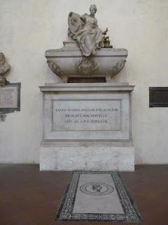 Basílica di Santa Croce, Tumba de Maquiavelo.
