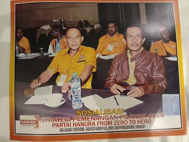 Dewan Pimpinan Daerah DPP Partai Hanura  menggelar Sosialisasi Strategis Pemenangan Pemilu untuk tahun 2020