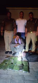 बाराबंकी : एक करोड़ की नेपाली चरस के साथ बाराबंकी पुलिस ने अंतरराष्ट्रीय तस्कर को किया गिरफ्तार