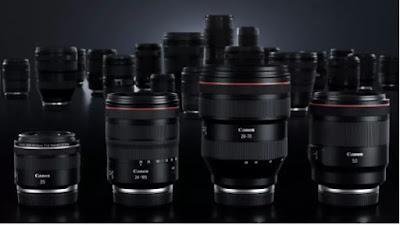 Canon RF Lenses for Canon EOS R Cameras