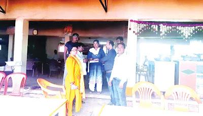 खाद्य एवं औषधि विभाग टीम की तीसरे दिन होटलों व ढाबों में चली कार्रवाई