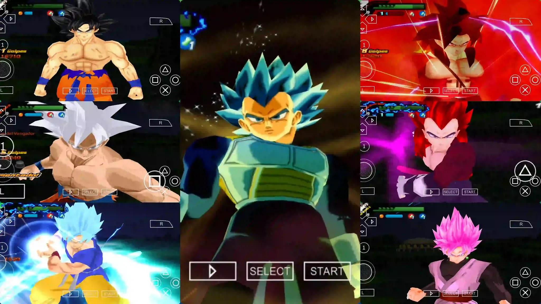 Dbz ttt mod Goku ultra Instinct