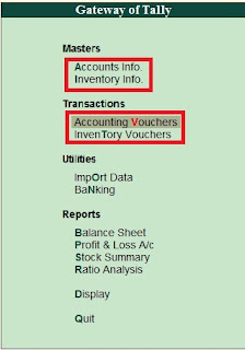Difference between Accounts Only and Accounts with Inventory in Tally in Hindi