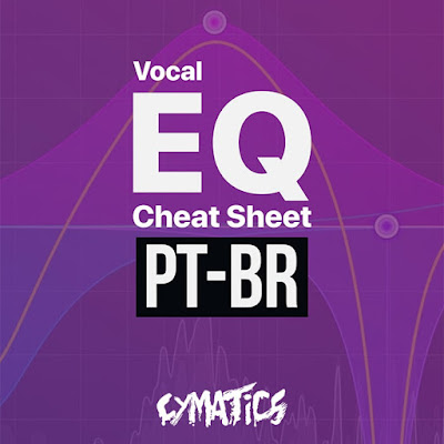 Cover do Cymatics - Vocal EQ Cheat Sheet (eBook) PT-BR