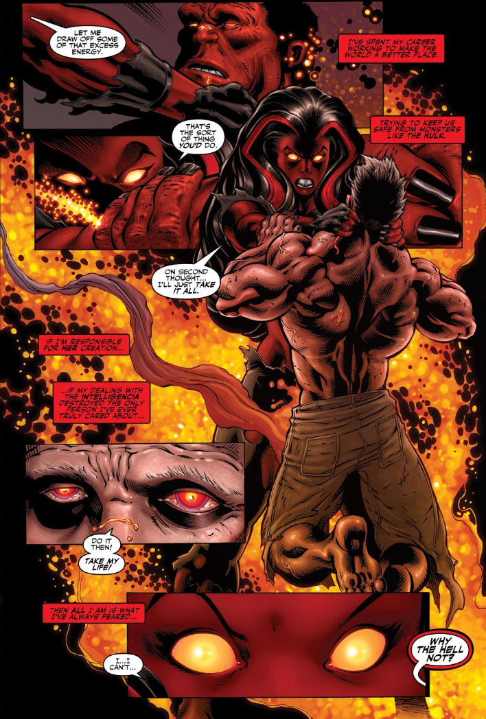 The peerless power of comics rise of the red hulk - Pictures of red hulk ...
