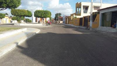 Córrego com as ruas mais limpas