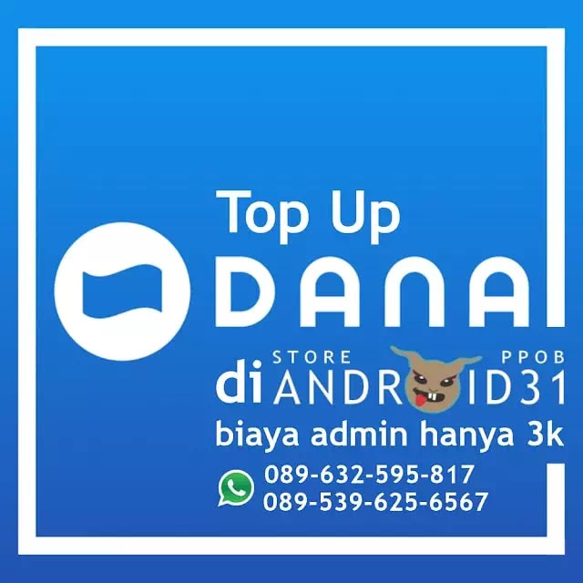 Harga Top Up E-Wallet di Android31 PPOB STORE