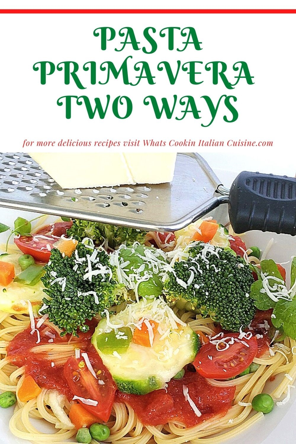 this is a pin for later on how to make pasta primavera