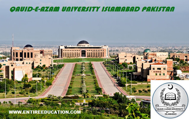 Qaid e Azam university Islamabad