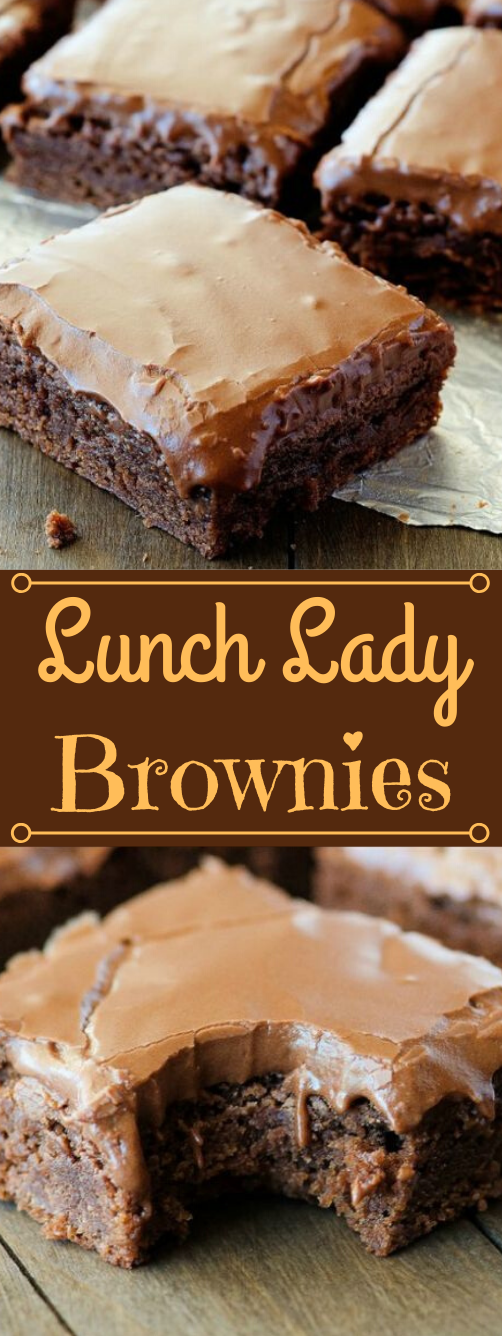 Lunch Lady Brownies #dessert #cakes #easy #recipes #brownies