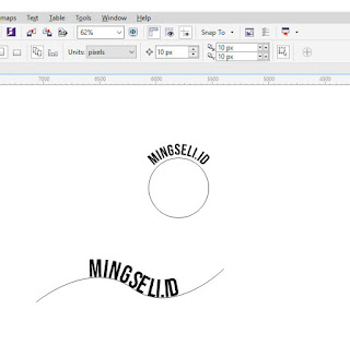 CorelDraw, Tutorial, Shape, Text