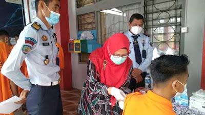Andikpas LPKA Kelas II Tanjung Pati Ikuti Vaksinasi