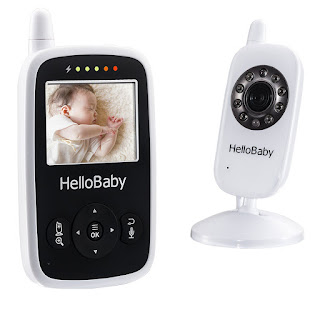 Hello Baby video monitor- Baby Monitor with Digital Camera HB24, Night Vision Temperature Monitoring & 2 Way Talkback System