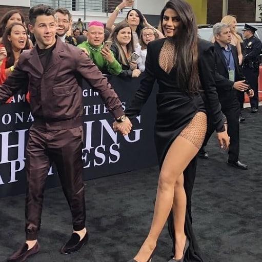 Priyanka Chopra Looks Sexy in Cut Out Dress