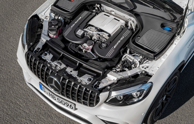 2018 MERCEDES-AMG GLC63 SUV Engine