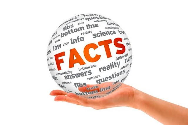Do we live with facts or fictitious stories in our life?