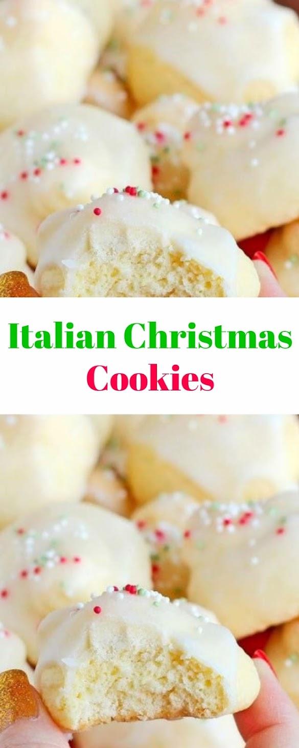 Italian Christmas Cookies #christmas #cookies