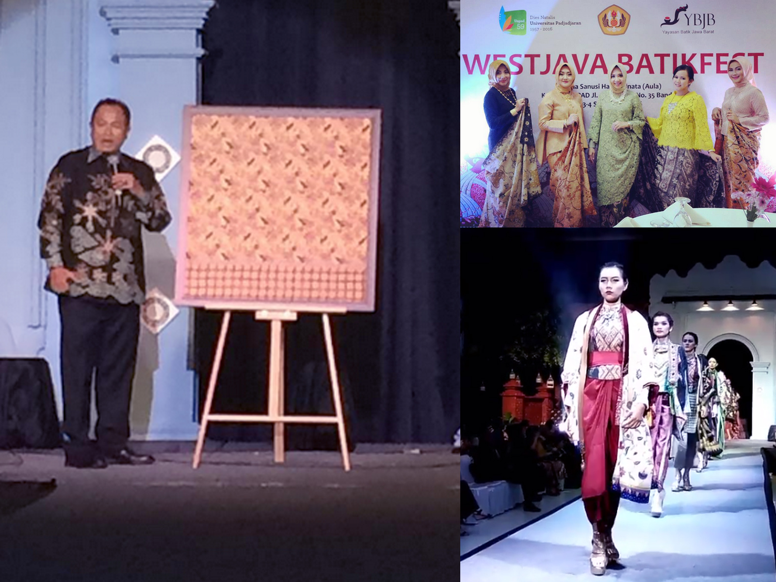 West Java Batik Fest Unpad September 2016