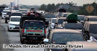 Mudik Berasal Dari Bahasa Betawi merupakan salah satu fakta unik dan menarik lebaran di Indonesia