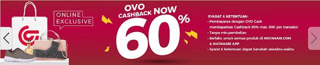 Belanja di Matahari Mall pakai pembayaran OVO