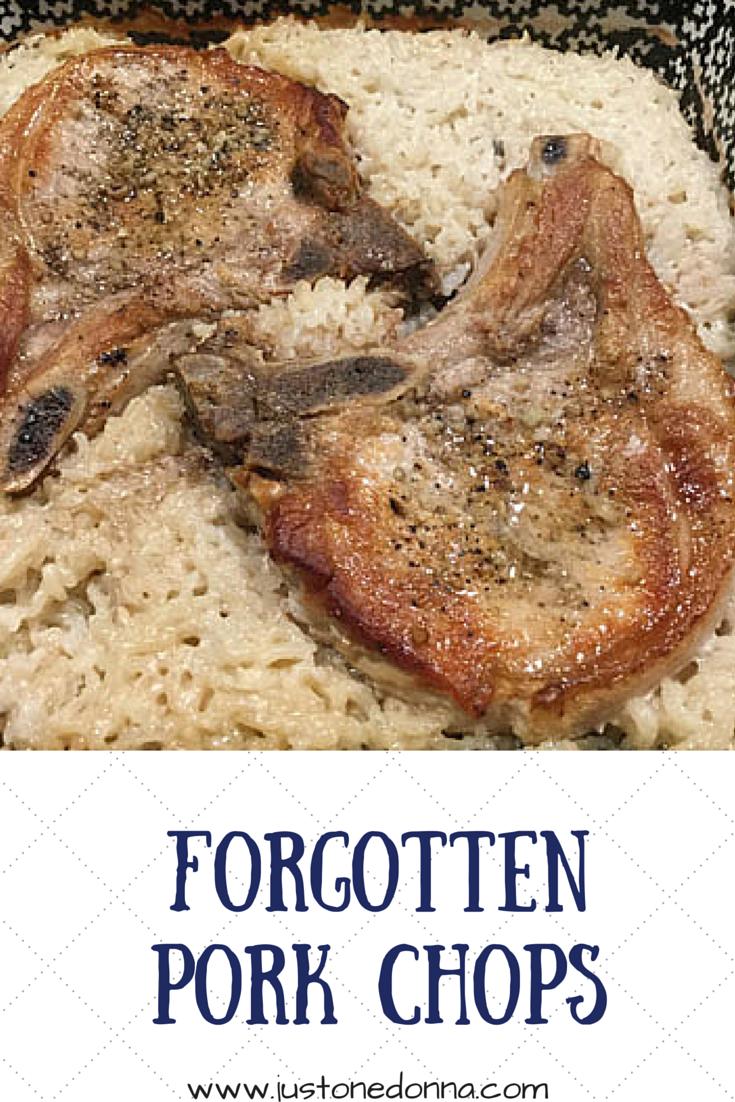 Forgotten Pork Chops Just One Donna
