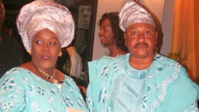 image result for jide kosoko and wife henrietta