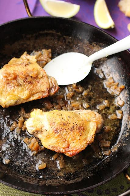 haut de cuisse de poulet