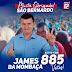 Candidato a vereador James da Mombaça é eleito com 885 votos, o segundo mais votado em São Bernardo/MA.
