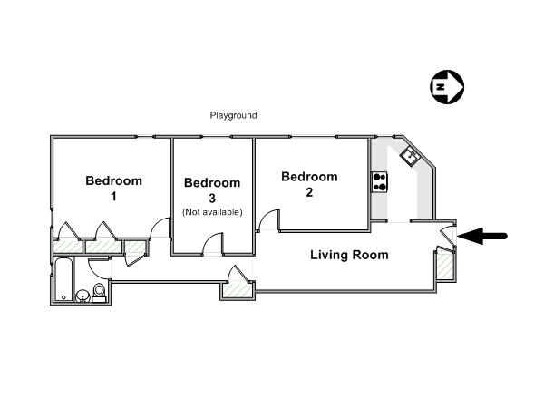 The Stuyvesant Town Report Room Requirements – Stuy Town 2 Bedroom Floor Plan
