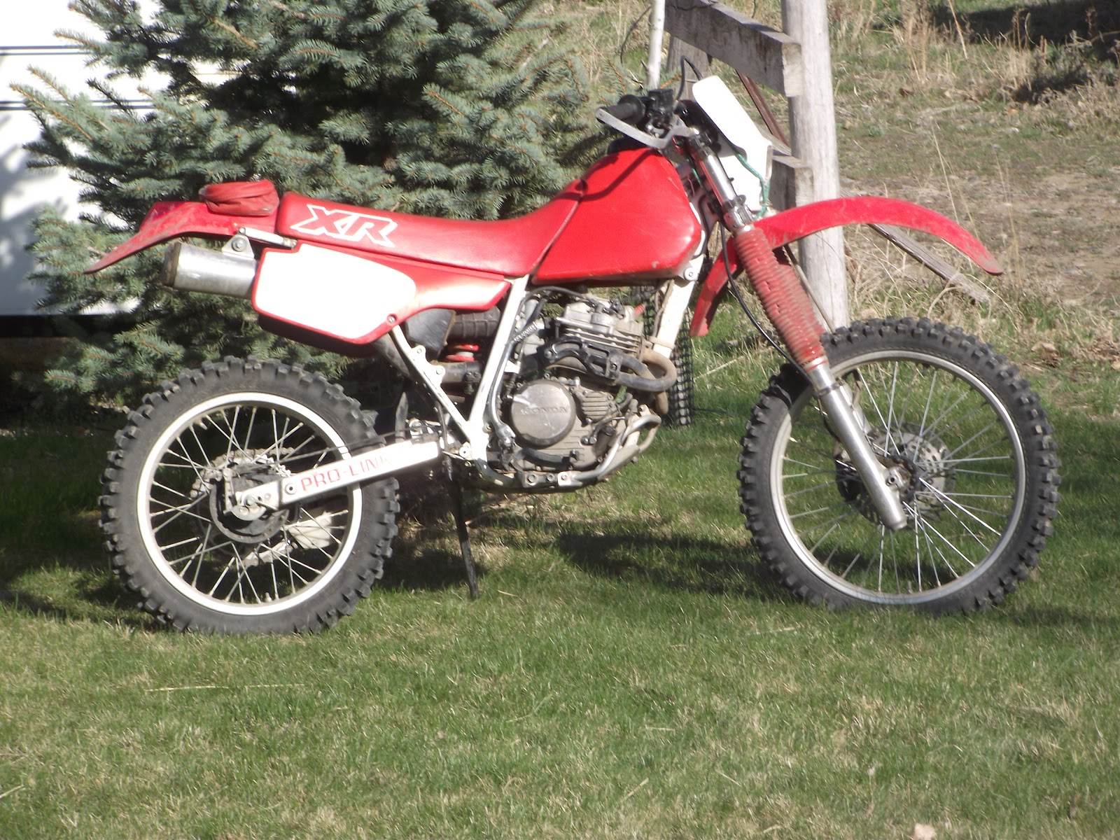 Quadro Amigos: 1989 XR250R review by Tanner