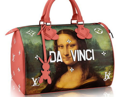 Tinuku.com Jeff Koons and Louis Vuitton actualize Da Vinci, Van Gogh, Fragonard, Titian and Rubens