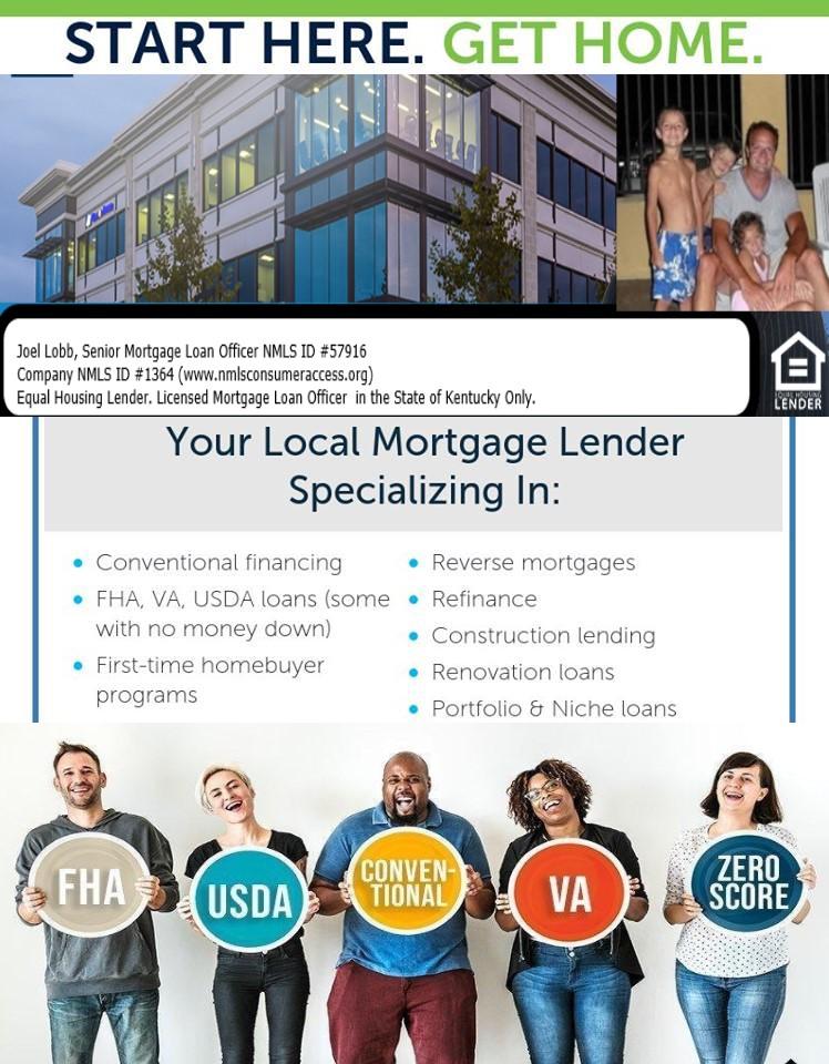 Kentucky FHA, VA, USDA and Rural Housing Mortgage Lender