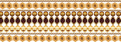 Border design for  digital textile Print 604