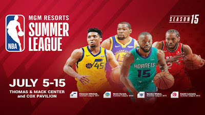Comment regarder la summer leagues NBA 2019 en direct