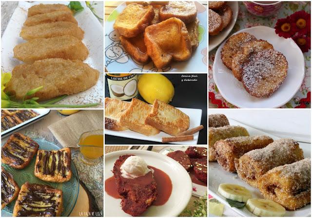 7 recetas de torrijas