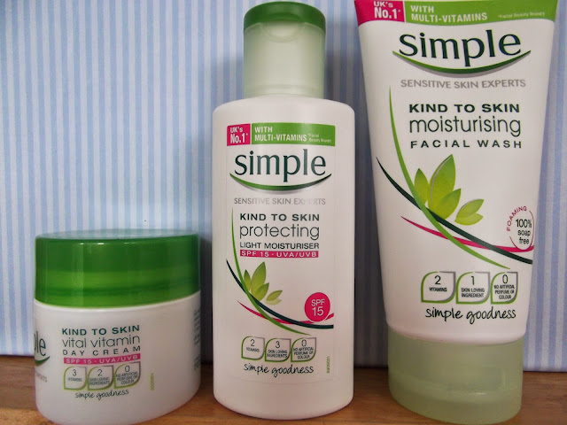 Simple Facial Wash and Cream
