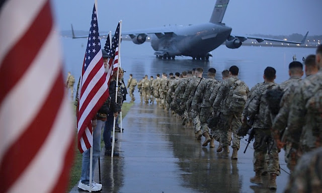 Militares estadounidenses e Irak