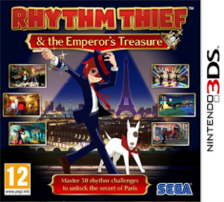 Rhythm Thief & the Emperor's Treasure EUR 3DS GAME [.CIA]