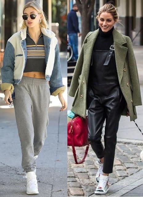 Looks de inverno 2019 Hailey Baldwin, Olivia Palermo