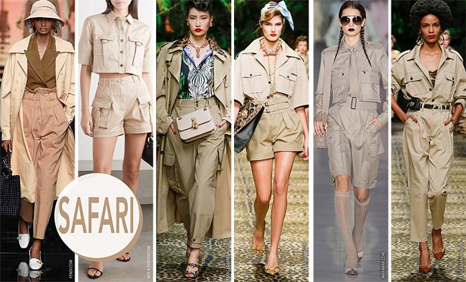 styl safari trendy lato 2020
