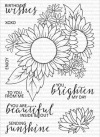 Clearly Besotted SENDING SUNSHINE Clear Stamp Set