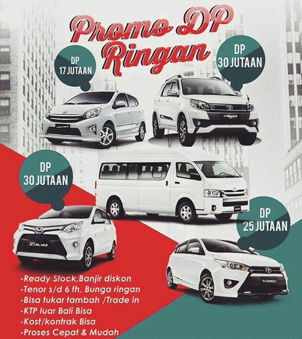 Promo Toyota Denpasar Bali 2016