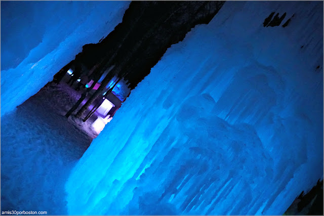 Noche en los Castillos de Hielo de New Hampshire