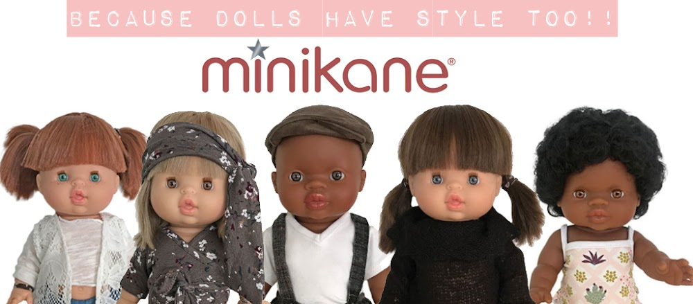 Minikane dolls, clothing and accessories