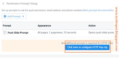 Set Up Free Web Push Notifications for Blogger blog 6