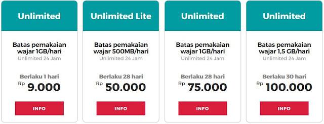 Paket Internet Smartfren Unlimited Murah 50 Ribu