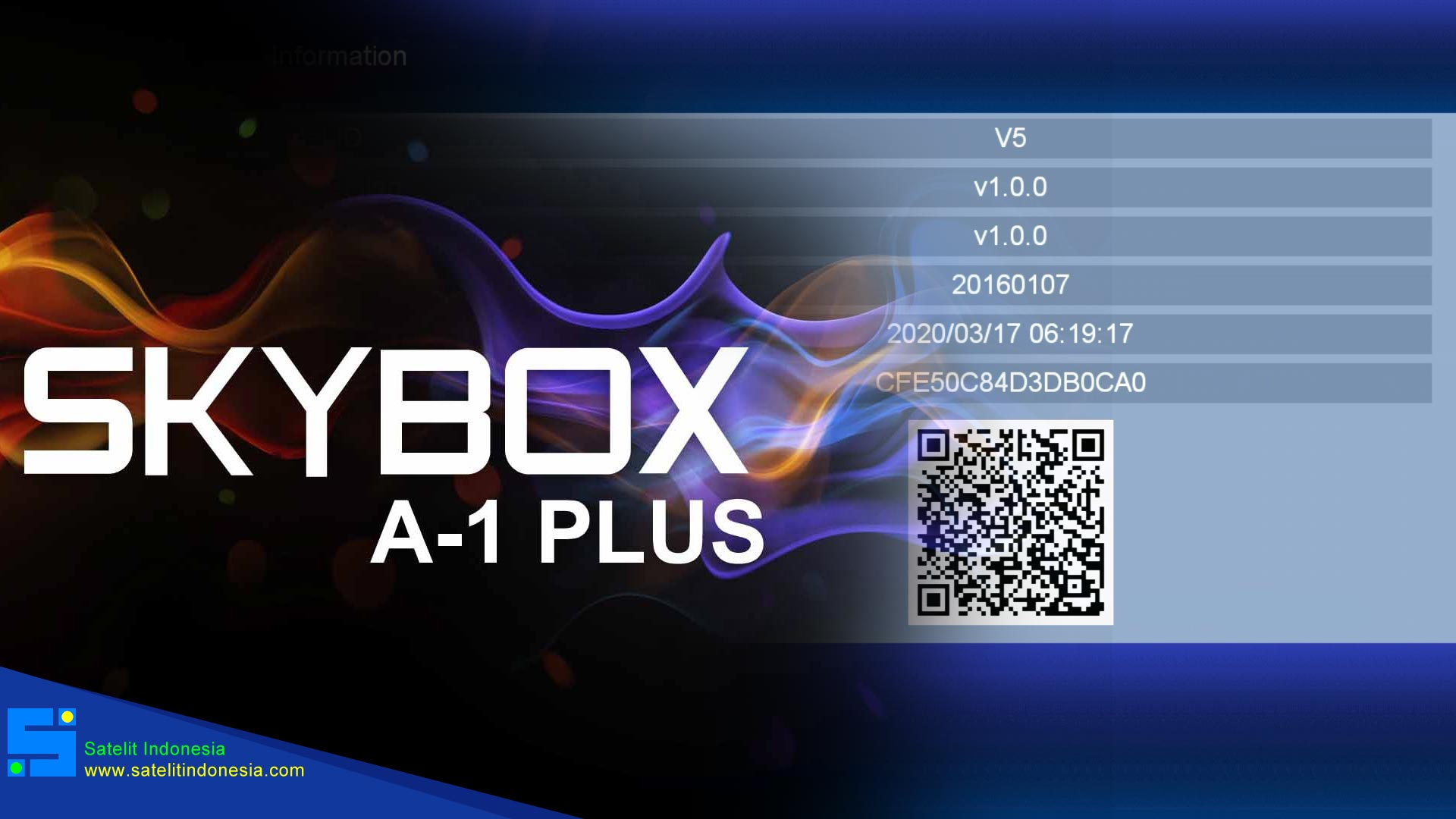 Download SW Skybox A1 New Plus Rasa K5S Firmware Receiver Terbaru