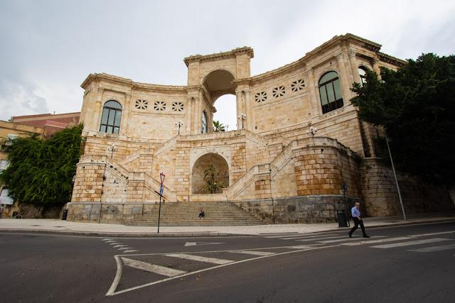 Scalinata di Piazza della Costituzione-Cagliari